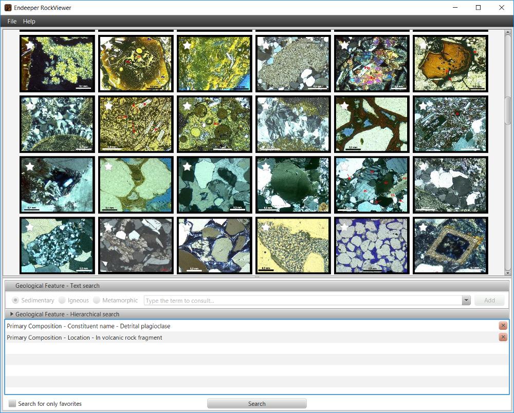 RockViewer - Tela de Busca - Slideshow de Imagens